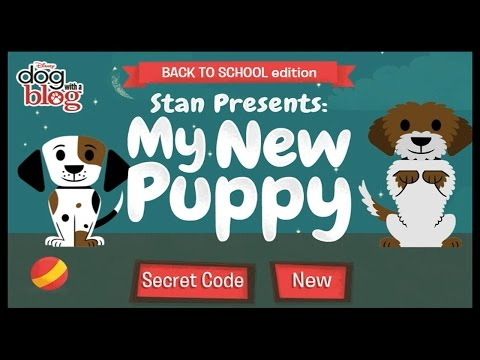 Dog With a Blog Full Game - My New Puppy - Full Game in HD Episode 1