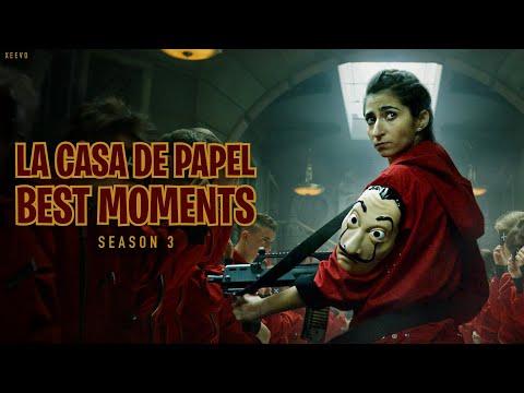 La Casa De Papel Season 3 Best Moments (Money Heist) - HD - Spanish & English
