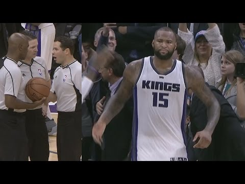 DeMarcus Cousins Drops 55 Pts! Gets Ejected! Angry Interview!