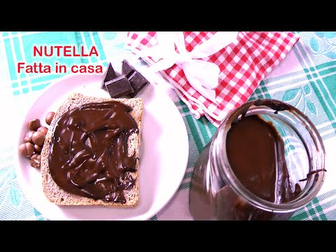 nutella light fatta in casa • ricetta e video tutorial