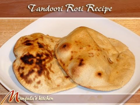 Tandoori Roti Recipe by Manjula
