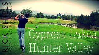 Hunter Valley Australia  City pictures : Cypress Lakes GC, Hunter Valley in Australia Part 1