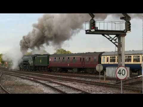 LNER A1 60163 'Tornado' at Yeovil Junction on The Cathedr...
