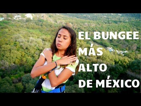 EL BUNGEE MÁS ALTO DE MÉXICO | Mariel de Viaje
