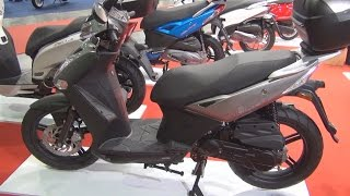 9. KYMCO Agility City 50 Exterior and Interior