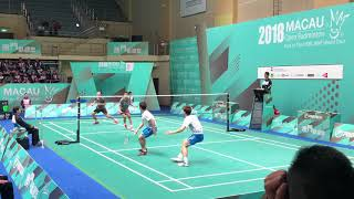 Download Video 2018 Macau Open MD Lee Yong Dae/Kim Gi Jung VS CHOOI Kah Ming/LOW Juan Shen excellent angle 60FPS MP3 3GP MP4