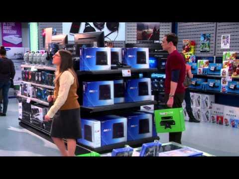 Шелдон выбирает между PS4 и Xbox One