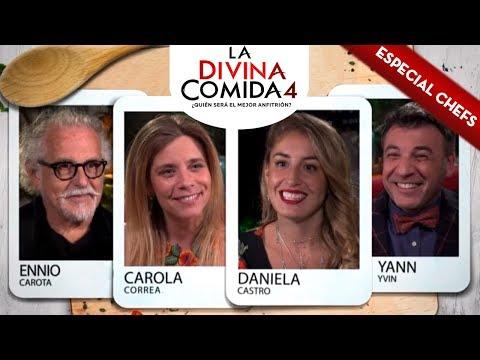 La Divina Comida   Yann Yvin, Carola Correa, Daniela Castro y Ennio Carota