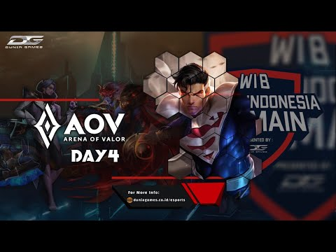 DGWIB: Arena Of Valor Season 4 (Day 4)