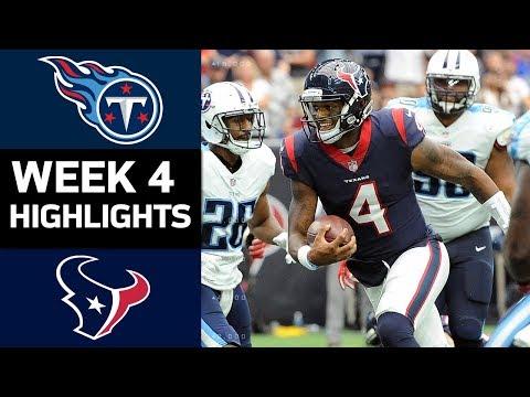 Video: Titans vs. Texans | NFL Week 4 Game Highlights