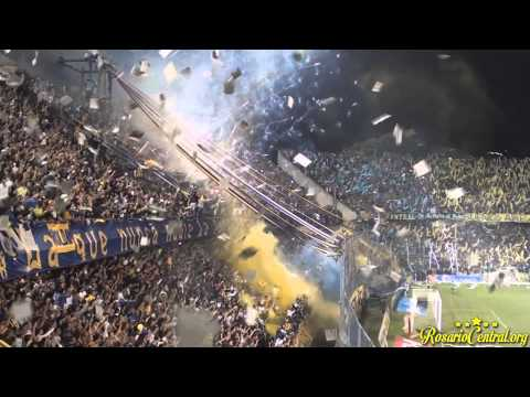 "Video - ""Recibimiento"" Rosario Central (Los Guerreros) vs Aldosivi - Los Guerreros - Rosario Central - Argentina"