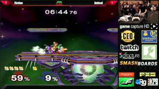 Amazing finish by Animal in a match vs. Fiction during Pools at Apex 2014. Wow.