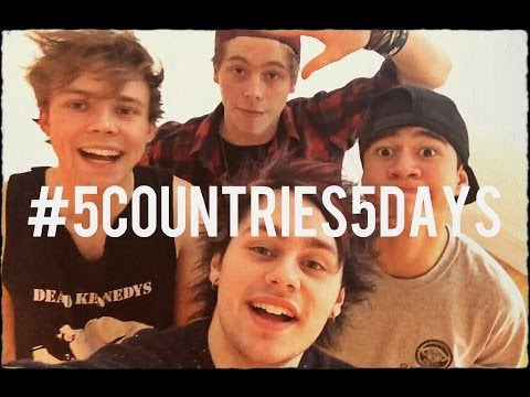 #5Countries5Days Food Challenge – 5 Seconds of Summer