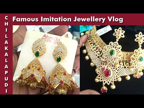 Indian famous imitation jewellery || Machilipatnam Chilakalapudi Rold Gold || Fashion jewellery ||