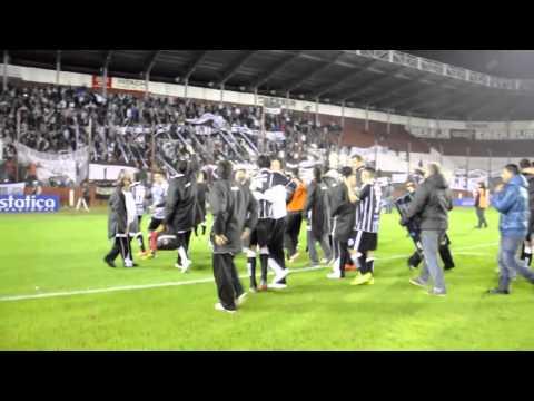 Estudiantes vs Vélez, en Lanús 24/07/2014 (CaserosPincha.com) - La Barra de Caseros - Club Atlético Estudiantes
