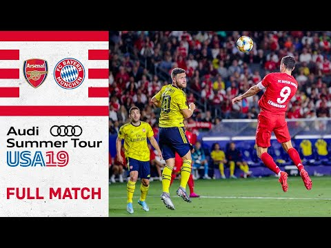Full Match - Arsenal FC Vs. FC Bayern 2-1 | International Champions Cup 2019