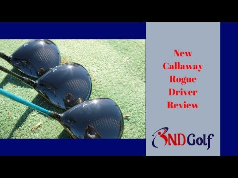 New Callaway Rogue Driver review