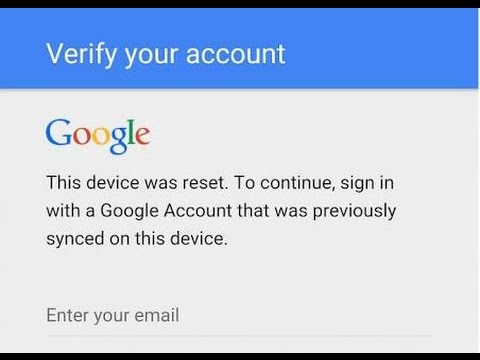 How to Remove Google FRP lock on any phones 2017 trick