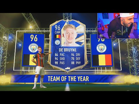 OMG I PACKED TOTY KEVIN DE BRUYNE!! FIFA 21 Ultimate Team Pack Opening
