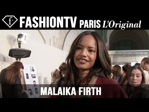 fashiontv - http://www.FashionTV.com/videos MODEL TALK - Malaika Firth talks to FashionTV about her personal style. For franchising opportunities with FashionTV, CONTACT US: http://www.fashiontv.com/contact...