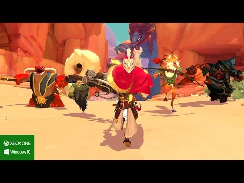 Trailer E3 2015 de gameplay de Gigantic