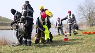Instructiefilm brandweeractie bij waterongeval