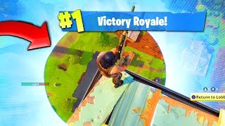 8. The BEST way to WIN a game of FORTNITE: Battle Royale!