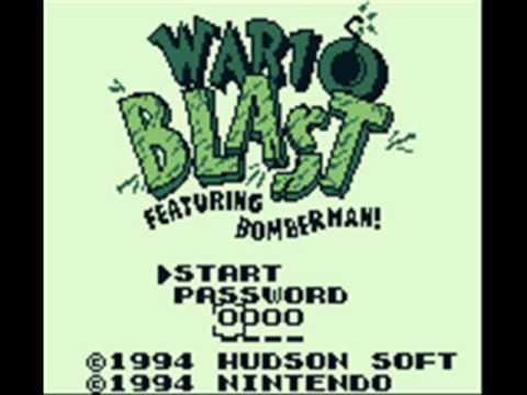 Blast Master Boy Game Boy