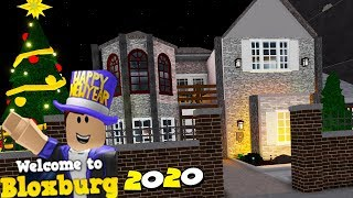 Roblox Bloxburg but the YEAR is 2020...