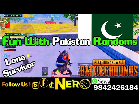 Nepali player carrying Pakistan friends| Pubg mobile. NER