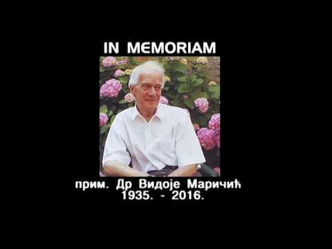 IN MEMORIAM  – ПРИМ. ДР ВИДОЈЕ МАРИЧИЋ