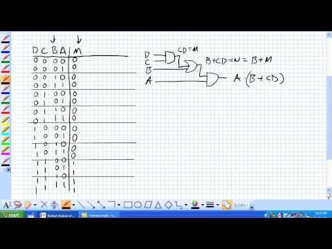 Boolesche Analyse Teil 1