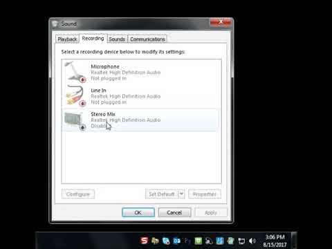 Skype audio fix 2