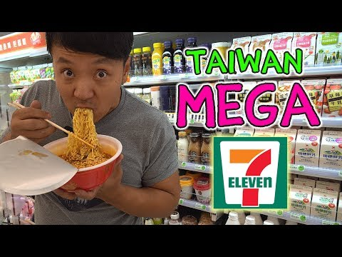Eating BRUNCH At Taiwan 7-ELEVEN