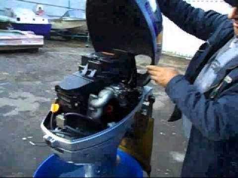 испытания моторов лодочных моторов