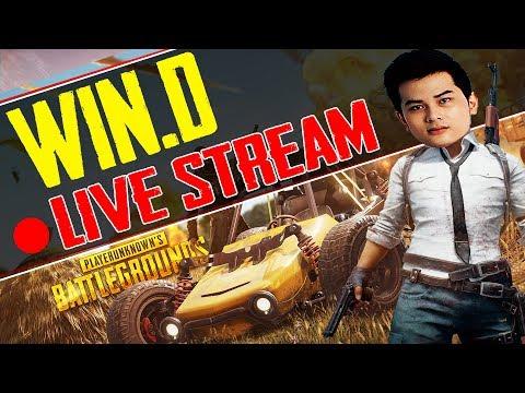 [ Live ] Win.D PUBG -  Tối nay và Ngày Mai ko stream nhe ( đi sự kiện ĐẤU TRƯỜNG MÁY TÍNH 1/4 )