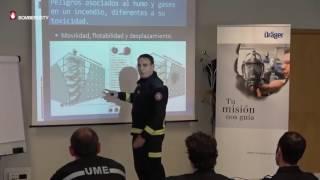DRÄGER. El humo en las intervenciones de bomberos. Ignacio García @APTBBomberos