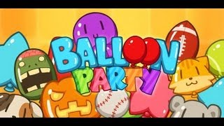 Balloon Party - Birthday Game YouTube video
