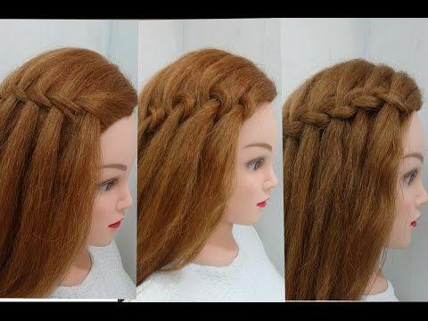 4 Types of Waterfall Braid: Easy Hairstyles