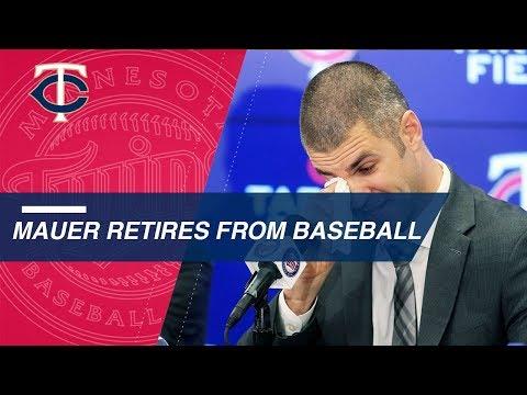 Video: Joe Mauer's retirement press conference