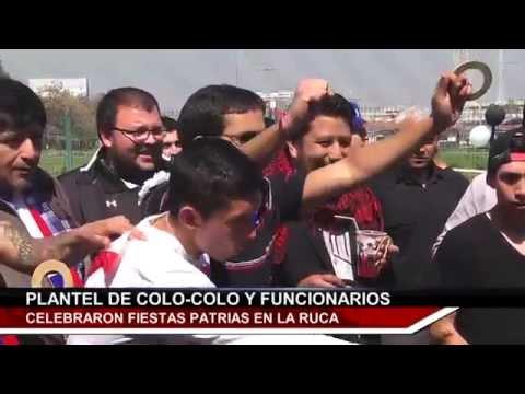 [Video] El íntimo festejo dieciochero de Colo Colo