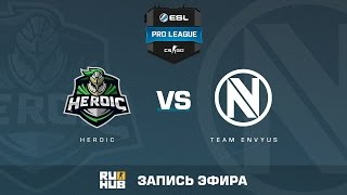 Heroic vs. Team EnVyUs - ESL Pro League S5 - de_train [CrystalMay, sleepsomewhile]