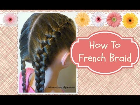 french braid - French braiding instructions step by step, and how to hold the strands! Awhile ago, we put out a