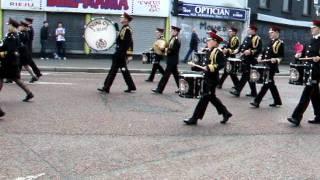 Download Lagu dunloy accordion band uvf regimental parade 2011 1 Mp3