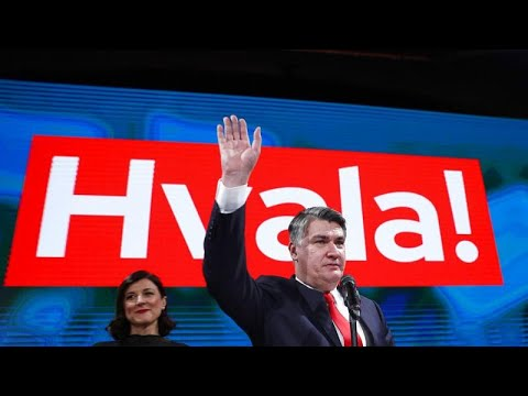 Kroatien: Milanovic gewinnt Duell um Präsidentenamt mit 6 Prozentpunkten Vorsprung