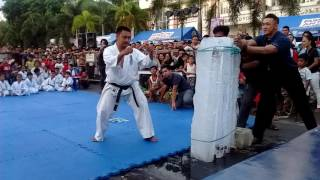 Video Sensei Artemio Mancol-Kyokushin Tameshiwari MP3, 3GP, MP4, WEBM, AVI, FLV April 2019