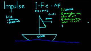 See more videos at:http://talkboard.com.au/In this video, we look at how to find the impulse of one object on another in a system. We apply the principle of conservation of momentum to do so.