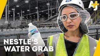 How Nestle makes billions bottling free water