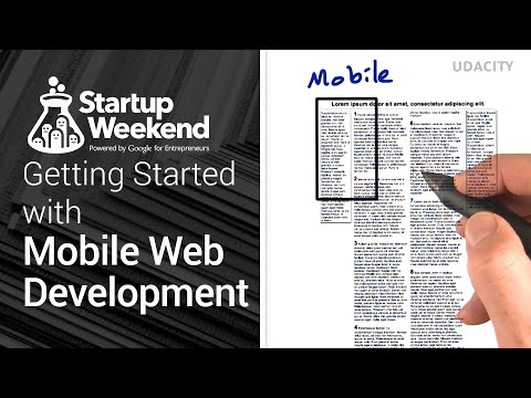 Getting started with Mobile Web Development: build responsive, awesome web apps (видео)