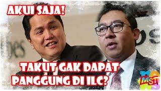 Video Akui Saja, Fadli Zon Takut Hilang Panggung Di ILC? Mau Boikot TVOne? Wkwkwk… MP3, 3GP, MP4, WEBM, AVI, FLV Januari 2019